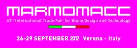 Marmomacc 2012, logo