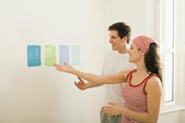 Prova dei colori a parete