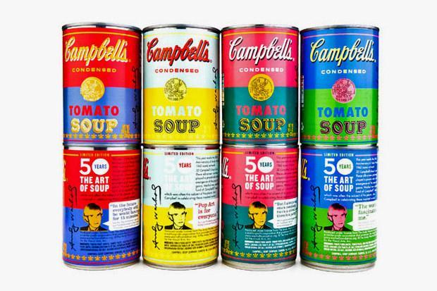 Lattine famose for Barattoli di zuppa campbell s