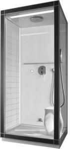 cabina doccia con bagno turco St.Trop di Duravit