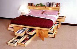 Cassetti Scorrevoli Sotto Letto : Cassettoni per il letto