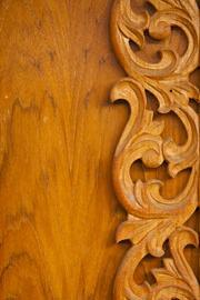 Decorazione in legno