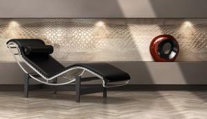 Sardegna Marmi Design. Boiserie Snake in Marmo di Orosei 1
