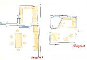 Trasformare il cucinino: disegno 7-8