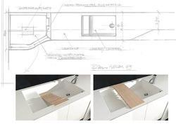 Soluzioni di design per bagno e cucina for Geromin flexia