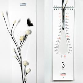 NOTHING dESIGN GROUP, Calendar with Vase