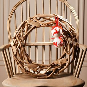Porta d 39 ingresso natalizia - Zara home porta di roma ...