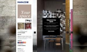 Marazzi Your Space, blog