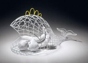 Fantastico Quotidiano, portafrutta, designer Valentina Caretta per Seletti