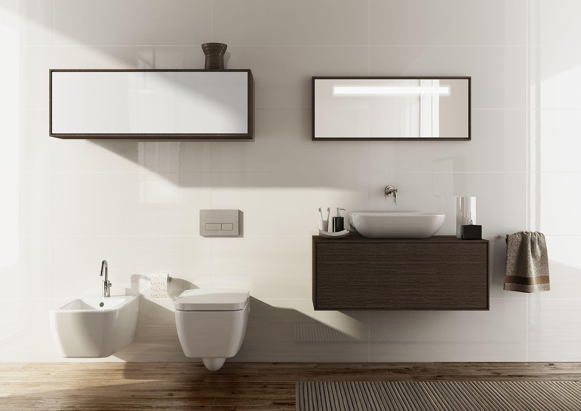Mobili componibili per il bagno