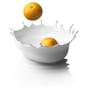 fruttiera Dropp, del marchio Menu