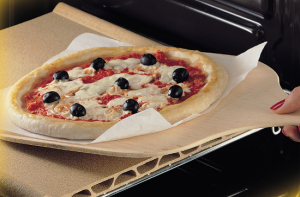 Forni e accessori per cuocere la pizza in casa - Piastra refrattaria per forno casalingo ...