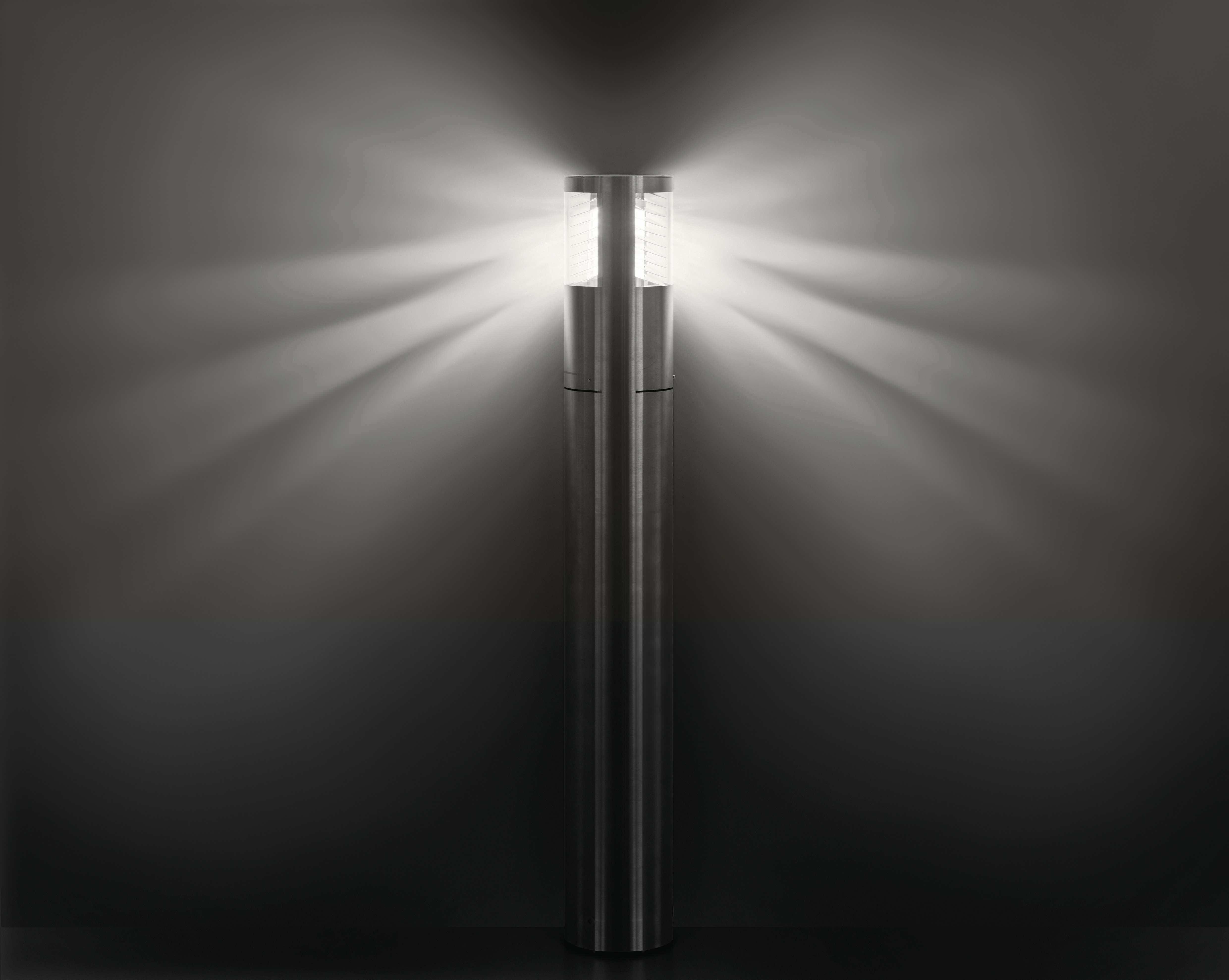 ... anche nella produzione di lampade per esterni su apparecchi a led