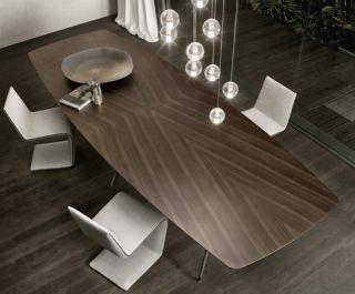 Tavoli per impreziosire il salotto for Piani di casa rotondi gratis