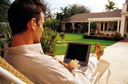 Collegamento web da casa