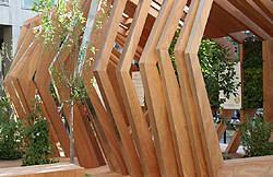 Silvio De Ponte Architetto: particolare struttura in legno