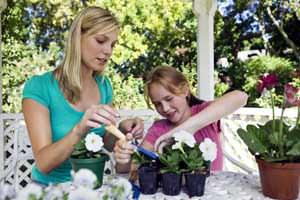 Laboratori di giardinaggio per bambini