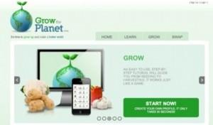 Grow the planet, per smartphone