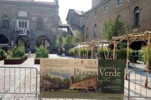 piazza Verde, Bergamo