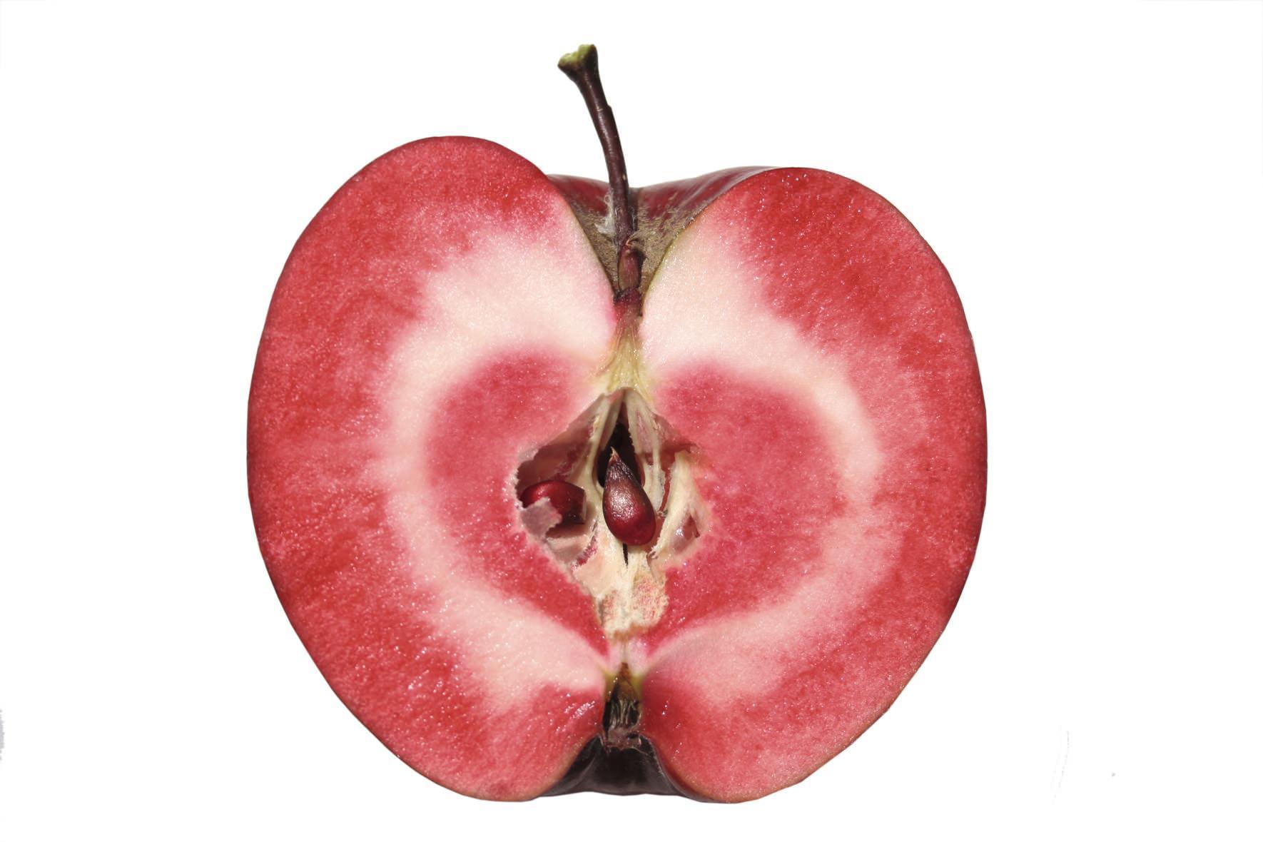 red love apple la mela dalla polpa rossa. Black Bedroom Furniture Sets. Home Design Ideas