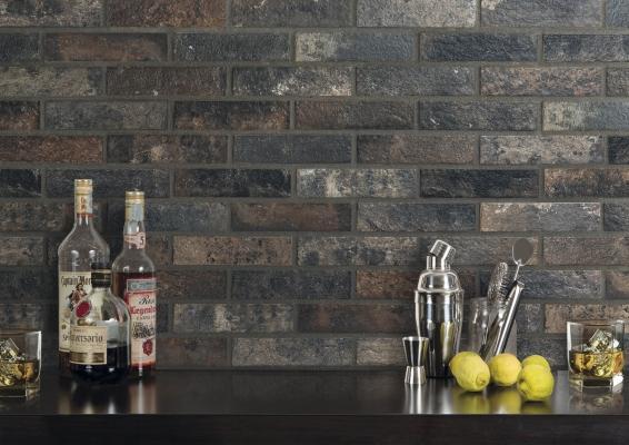 Ceramica Rondine Brick Generation collezione Bristol Dark 2