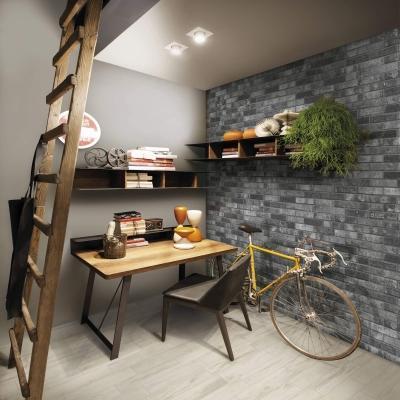 Ceramica Rondine Brick Generation collezione London Charcoal