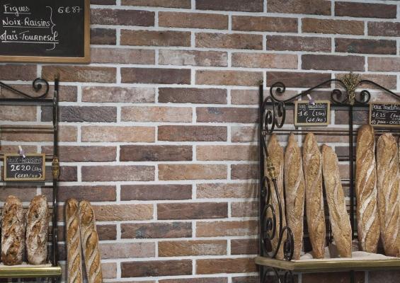 Ceramica Rondine Brick Generation collezione Tribeca Oldred