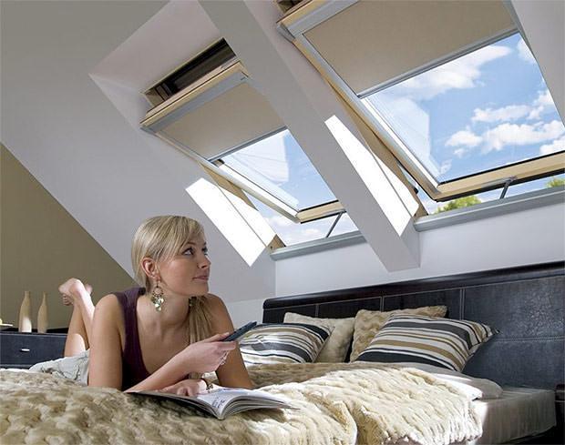 Finestre da tetto in legno Fakro