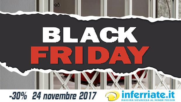 Black Friday 24 novembre 2017 Inferriate.it