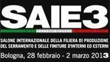Saie3 Salone internazionale della filiera di produzione del serramento