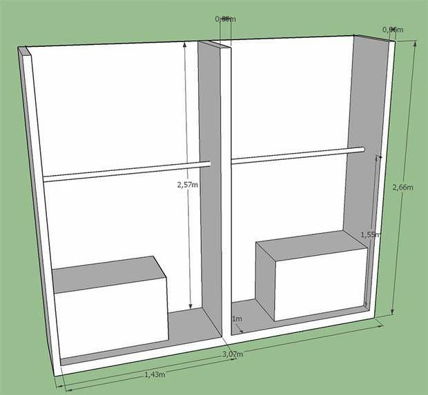 Ante scorrevoli per armadio a muro - Porte per armadio a muro ...