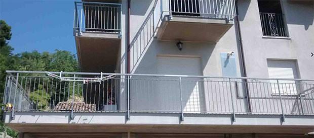 Copertura ombreggiante per terrazzo