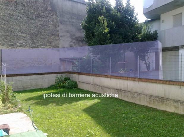 Pannelli isolamento acustico esterno pannelli termoisolanti - Pannelli fonoassorbenti per giardino ...