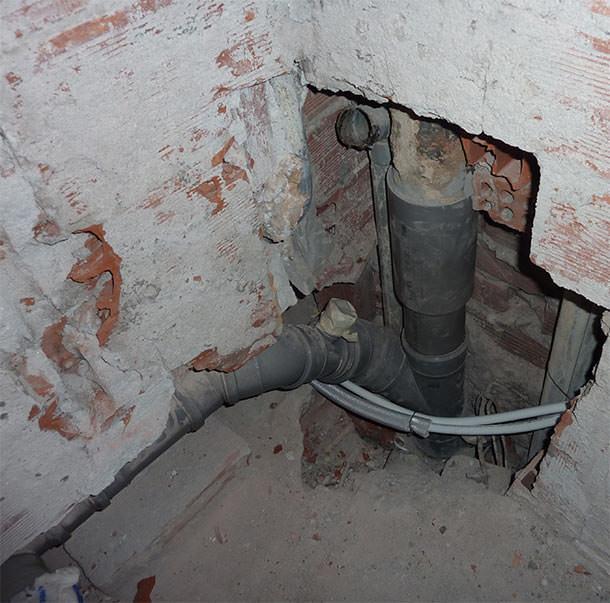 Problema scarico due wc vicini edilizio - Lavorincasa forum ...