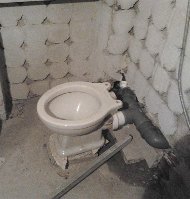 Problema scarico due wc vicini for Collegamento del tubo di rame al pvc