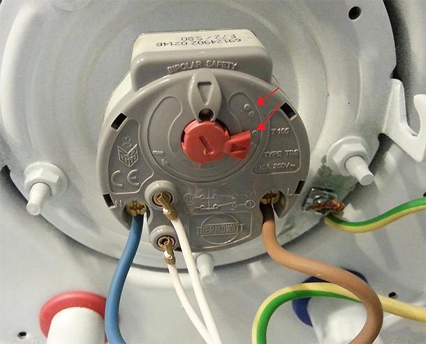 Termostato scaldabagno elettrico che significano i puntini - Lavorincasa forum ...