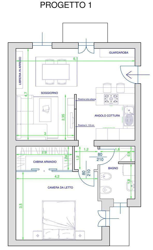 Progetto ristrutturazione appartamento tg81 pineglen for Progetto ristrutturazione appartamento