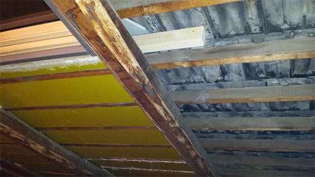 Isolamento termico del tetto - Isolamento tetto interno ...