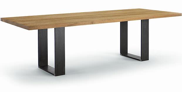 Tavolo in legno massello - Tavolo legno ferro ...