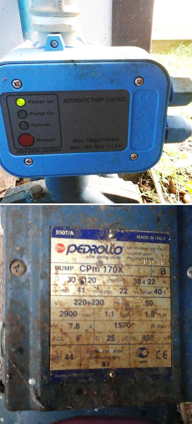 Consiglio cambio pompa per mandare acqua in casa - Lavorincasa forum ...