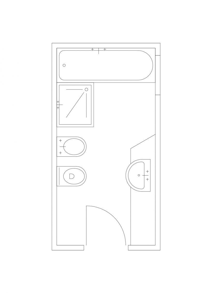 Bagno 2 X 2 forum progettazione: discussione su bagno 2 x 4