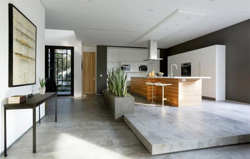 Alzare pavimento zona soggiorno con gradino for Pavimento cucina soggiorno