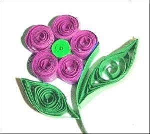 fiore in quilling