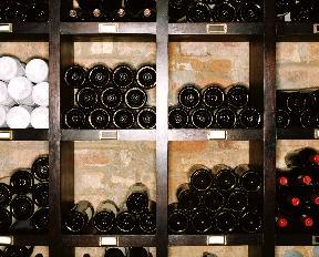 Modo scaffale per vino legno naturale legno non trattato