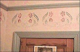 Stencil creativo su pareti for Muro spugnato