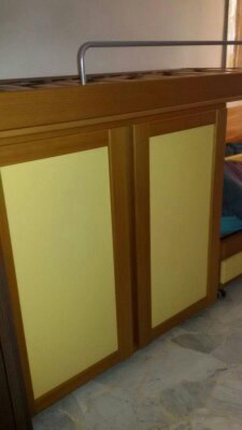 Vendo letto a sbalzo (a castello) con armadio sottostante ...