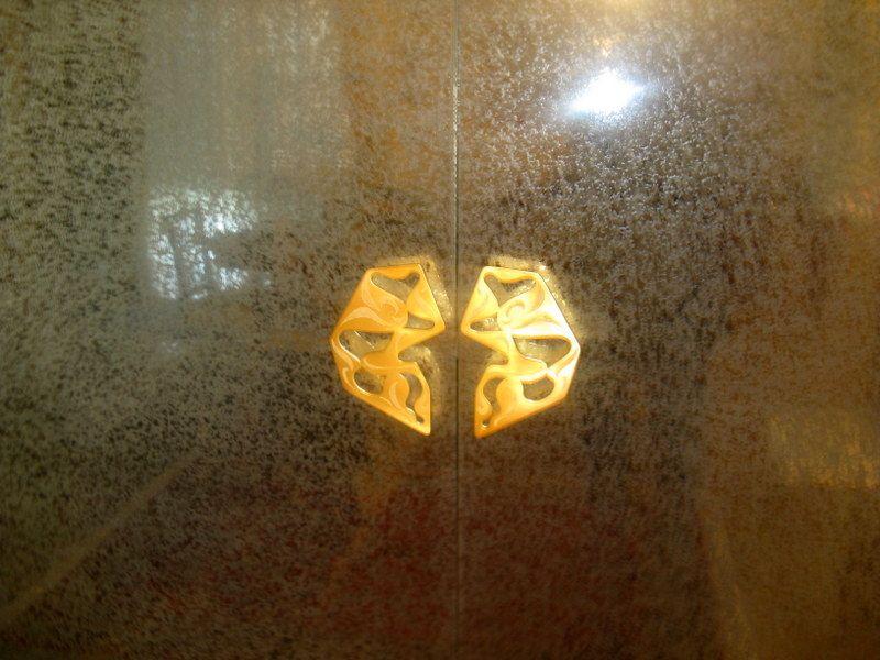 Vetrata in cristallo FONTANA ARTE 1