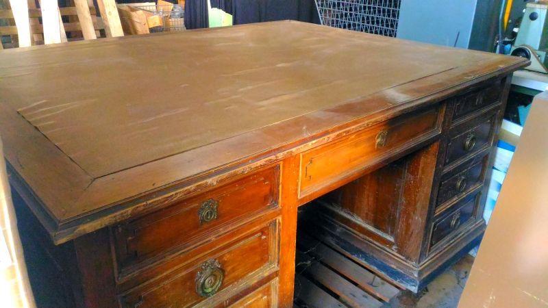 Vendo mobili in legno ufficio primi '900. 1