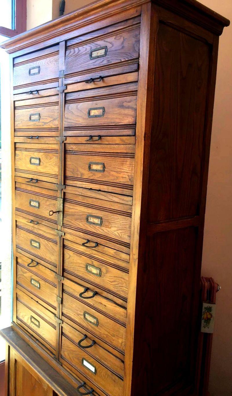 Vendo mobili in legno ufficio primi '900. 2