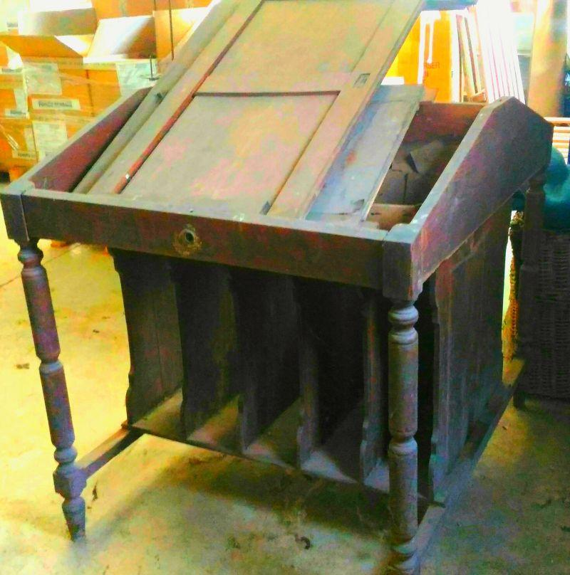 Vendo mobili in legno ufficio primi '900. 3